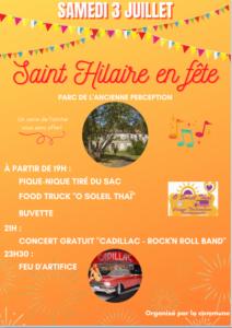 St Hilaire en fête 2021