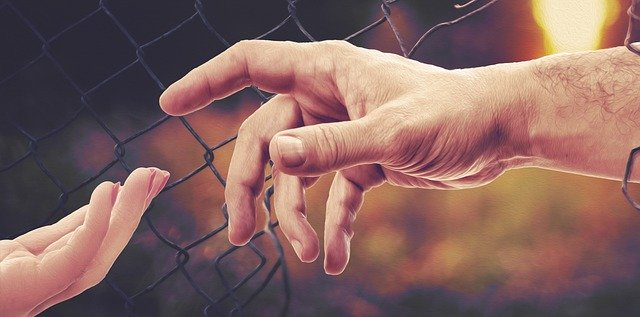 Hands Fence Freedom Border Wire